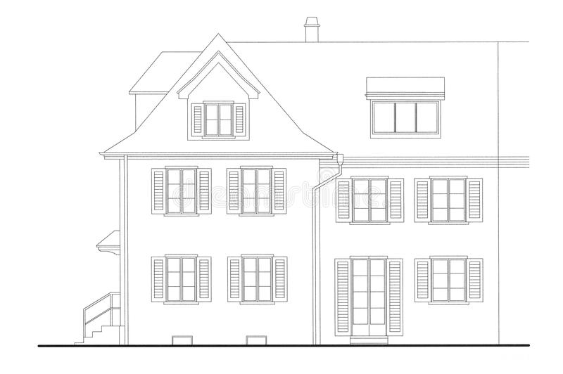 Architekturplan vektor abbildung