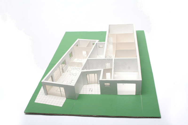 Architekturplan stockbilder