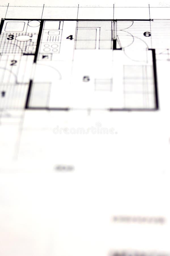 Architekturplanung lizenzfreie stockfotos