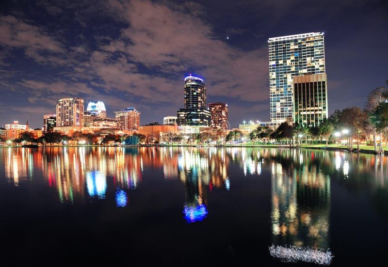 architektury śródmieście Orlando zdjęcie royalty free