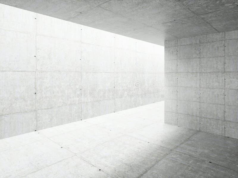 Architektury abstrakcjonistyczny Wn?trze royalty ilustracja