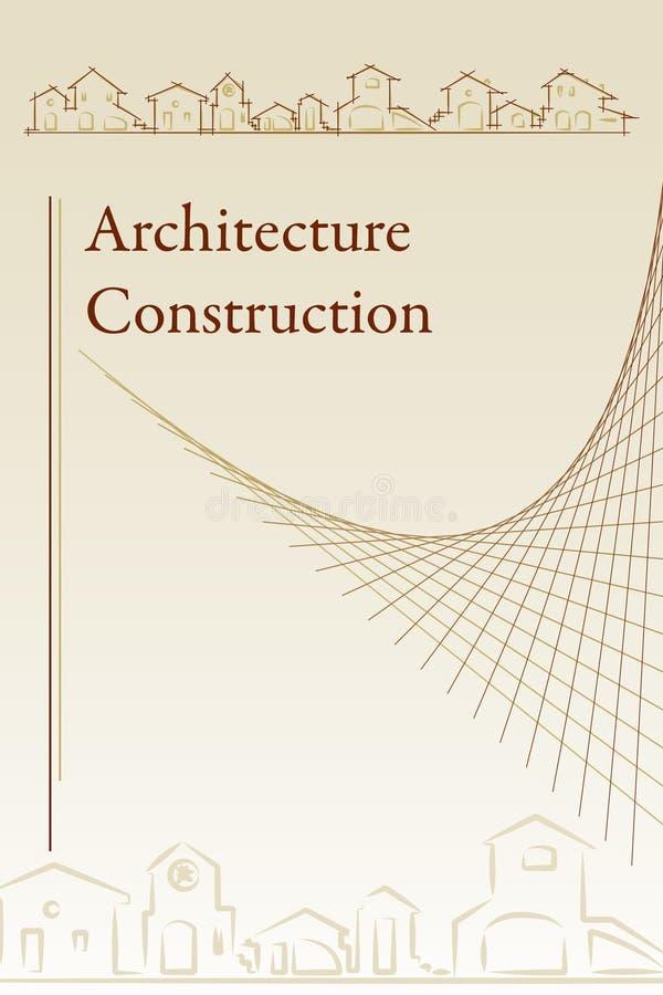 architektury broszurki pokrywa ilustracji