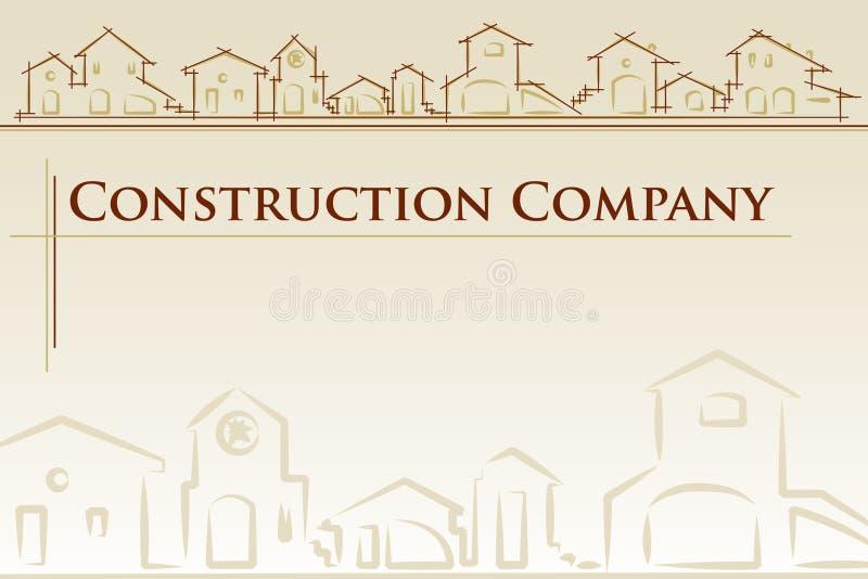 architektury firmy budowa ilustracji