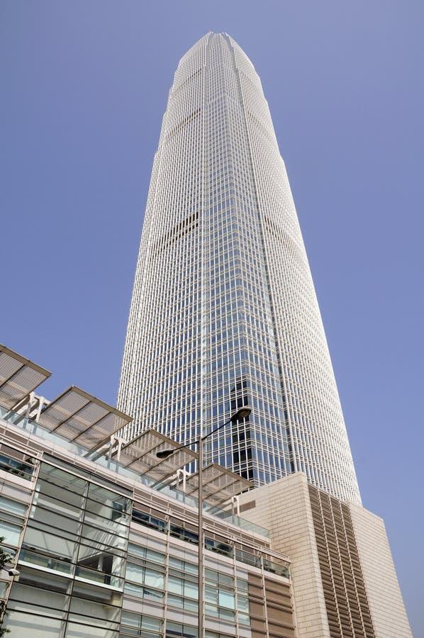 architektury Hong kong nowożytny zdjęcie royalty free