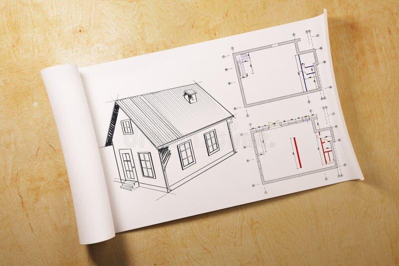 Architektury i inżynierii pojęcie ilustracja wektor