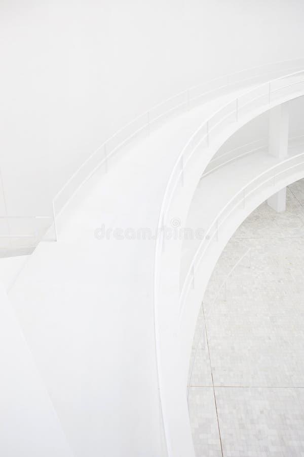 architektury kopii podwyższony przejścia biel zdjęcia stock
