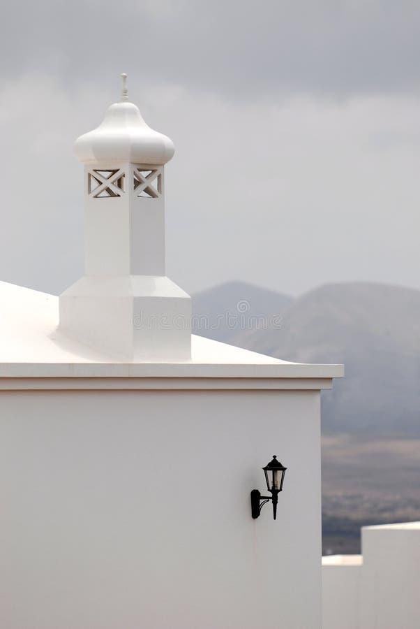 architektury Lanzarote specyfik zdjęcie stock