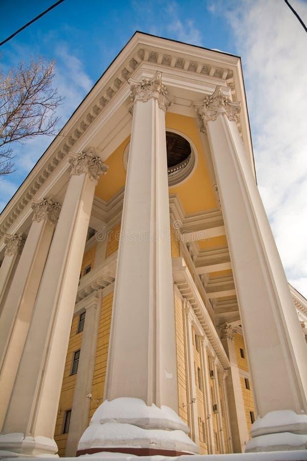Download Architektury Moscow Theatre Obraz Stock - Obraz złożonej z moscow, okrąg: 13326015