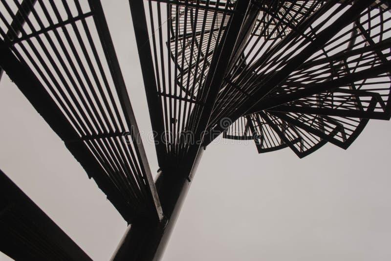 architektury tła budynku nagłego wypadku ucieczki ogienia schodki miastowi fotografia stock
