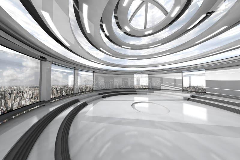 Architektury Visualisation ilustracji