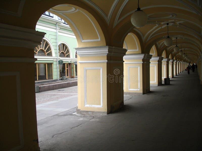 Architekturzusammensetzung in Russland stockfotos