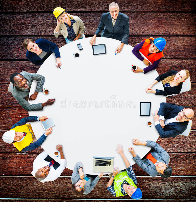 Architetto Business Engineering Corporate Team Concept immagini stock