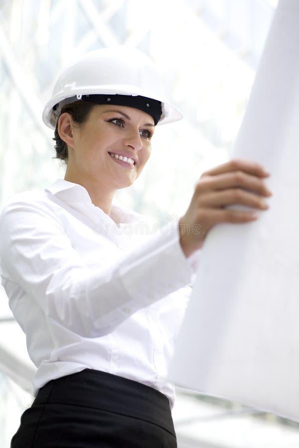 Architetto femminile immagine stock libera da diritti
