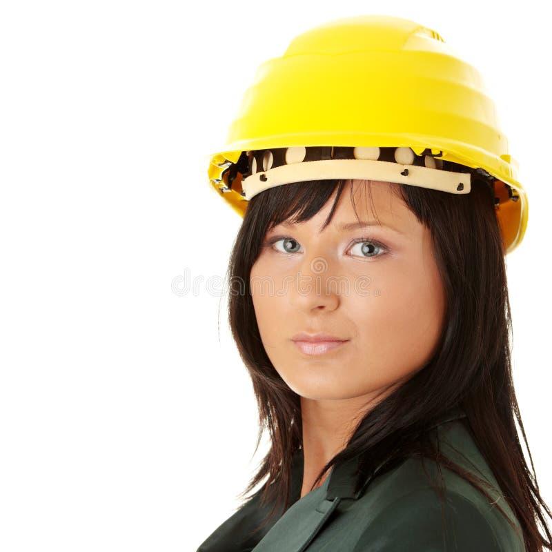 Architetto o costruttore che porta un cappello giallo del - Architetto porta ...