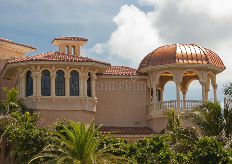 Architettura 1 di Mediterranian immagini stock libere da diritti