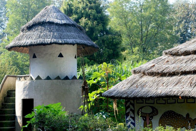 architettura africana tradizionale fotografia stock