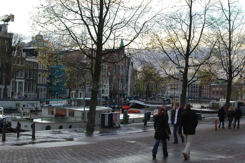 Architettura a Amsterdam, Olanda fotografia stock libera da diritti