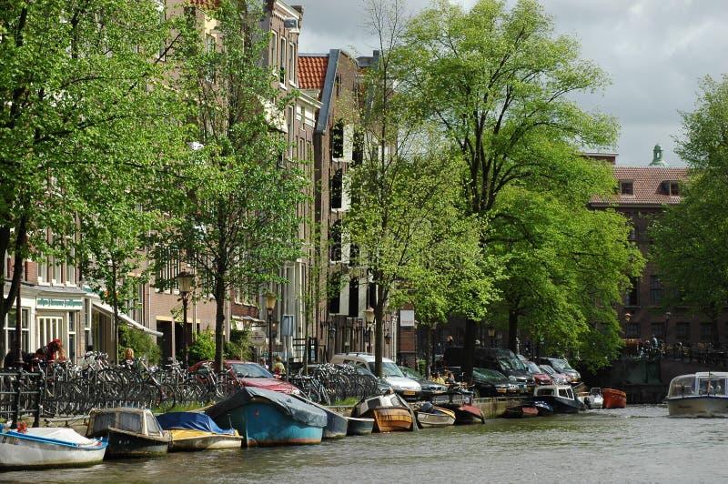 Architettura a Amsterdam, Olanda immagini stock libere da diritti