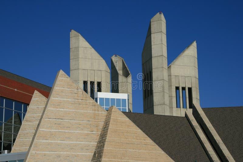 Architettura angolare fotografia stock