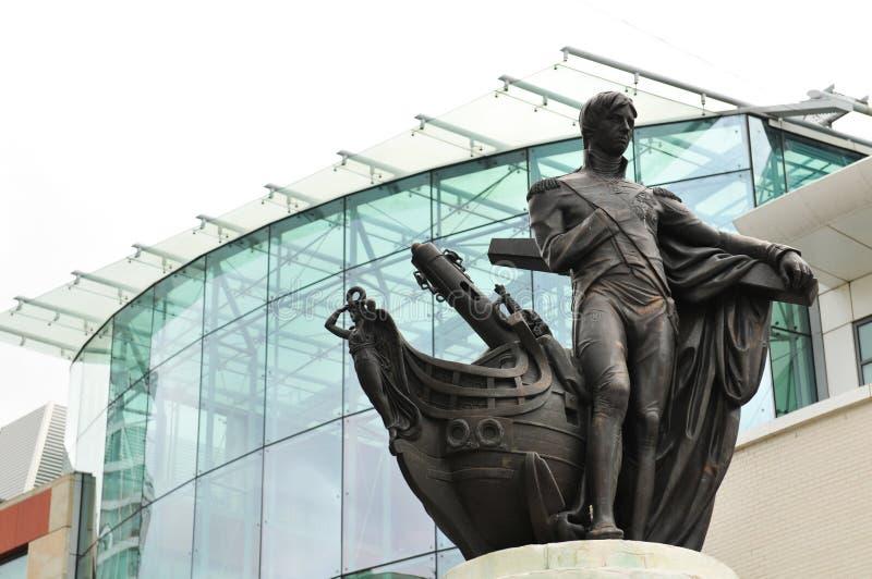 Architettura a Birmingham, Regno Unito immagine stock libera da diritti