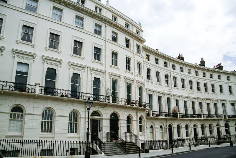 Architettura Brighton Regno Unito di periodo di Regency fotografia stock