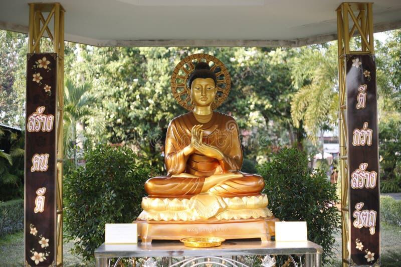 Architettura buddista di Trat Tailandia fotografia stock libera da diritti