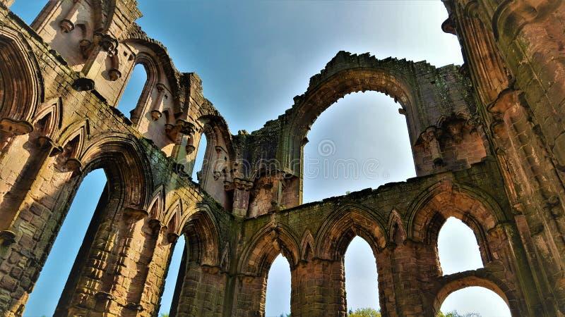 Architettura Cistercense l'inghilterra fotografie stock