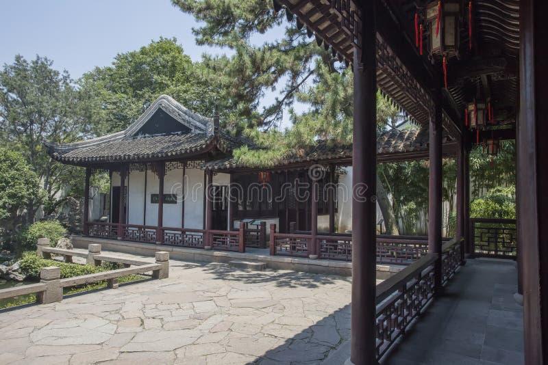 Architettura classica di Suzhou immagine stock libera da diritti