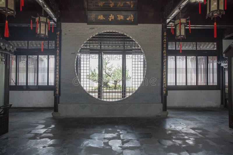 Architettura classica di Suzhou immagini stock
