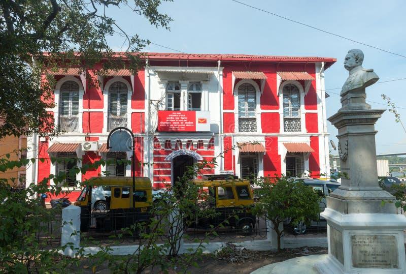 Architettura coloniale portoghese in Goa immagini stock libere da diritti