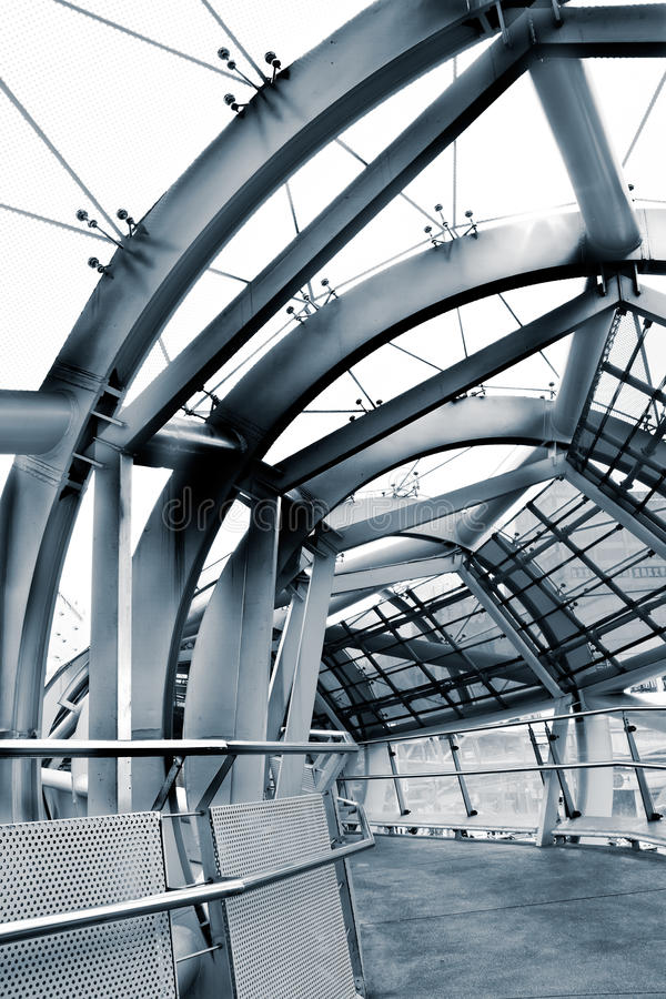 Architettura del flyover fotografia stock