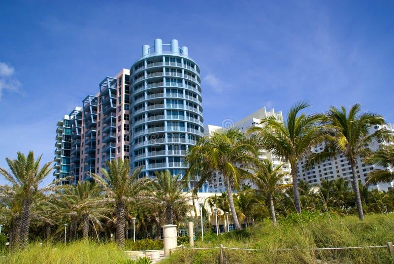 Architettura del Miami Beach immagini stock libere da diritti