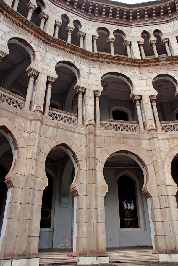 Architettura del Moorish immagini stock