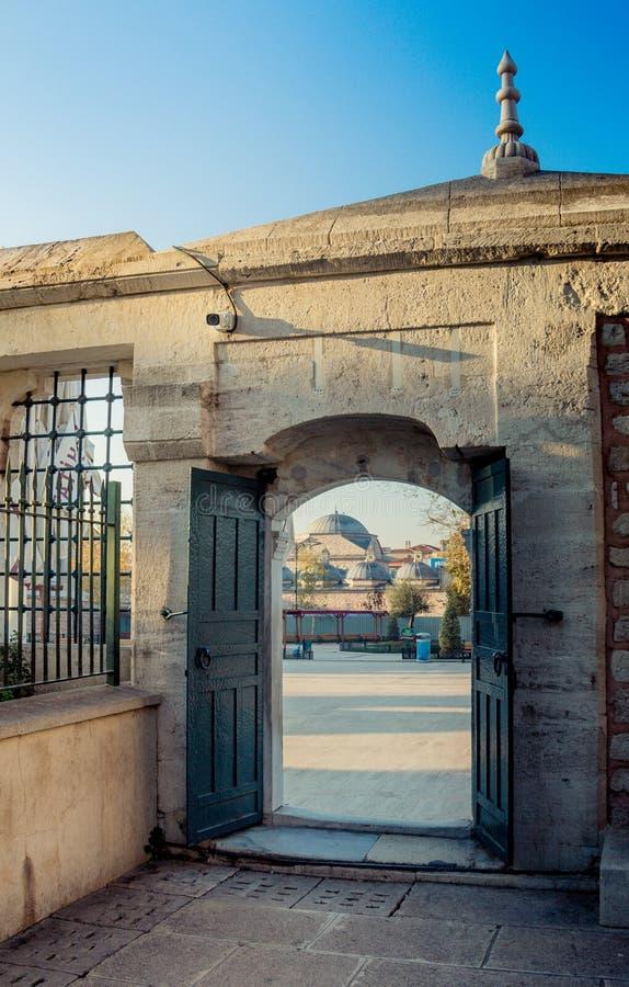 Architettura del portone dell'ottomano di esempio immagine stock libera da diritti