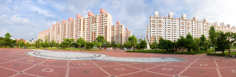 Architettura del Sud Corea    fotografie stock libere da diritti