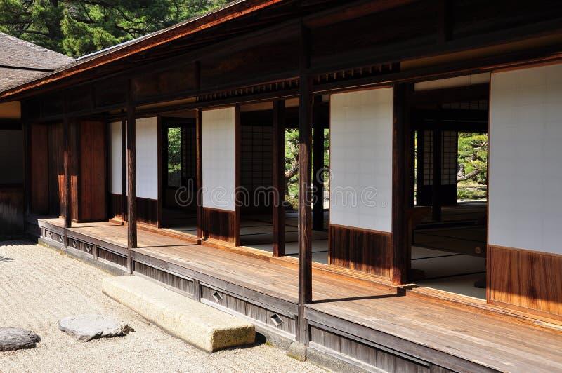 Architettura del tempio di zen del giappone fotografia for Architettura giapponese tradizionale