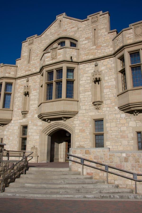 Architettura dell'università immagini stock