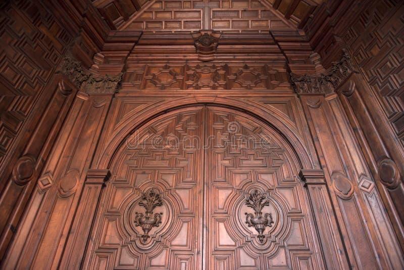 Architettura della cattedrale di Granada fotografia stock