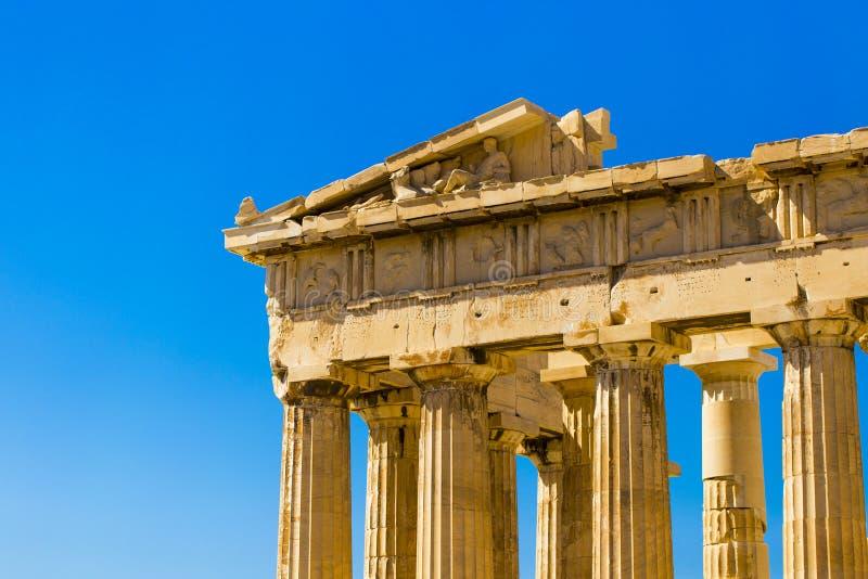 Architettura di Akropolis della colonna immagini stock libere da diritti