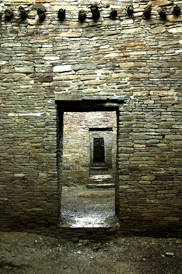 Architettura di Anasazi immagine stock
