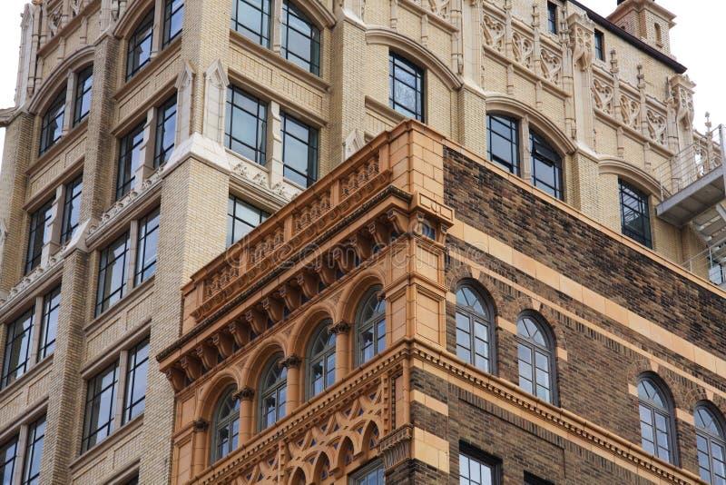 Architettura di Asheville immagine stock