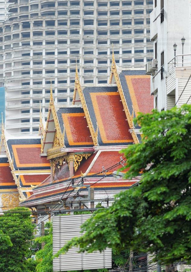 Architettura di Bangkok fotografia stock libera da diritti