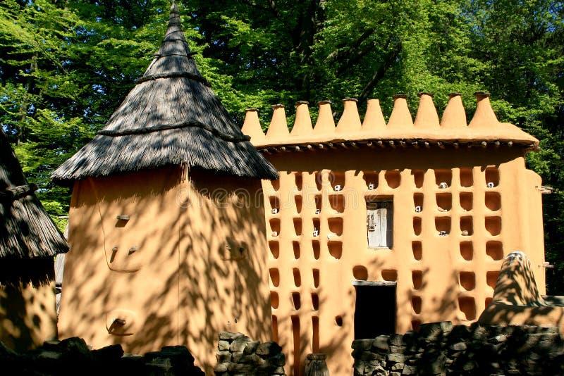 Architettura di Dogan (Mali) immagine stock