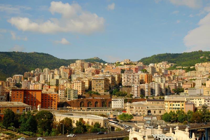 Architettura di Genova fotografia stock