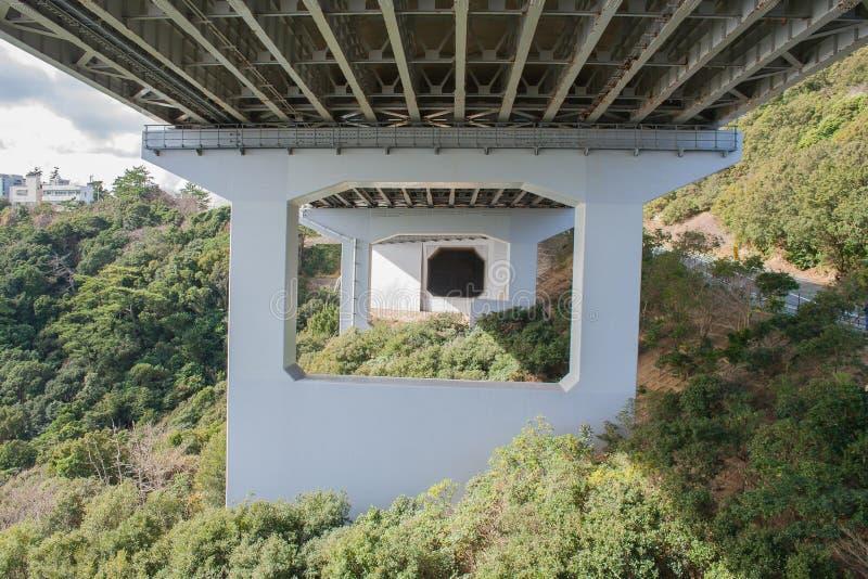 Architettura di grande ponte di Naruto immagine stock libera da diritti