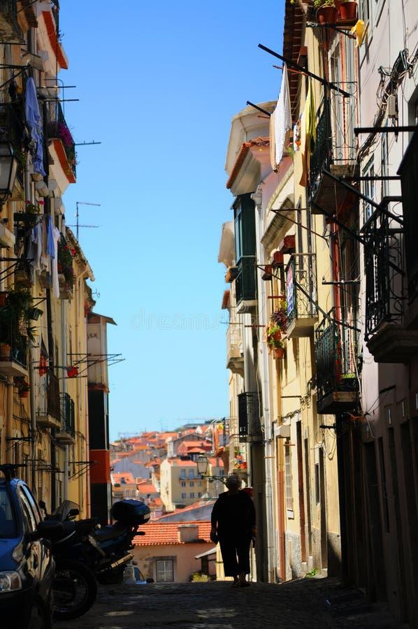 Architettura di Lisbona fotografia stock