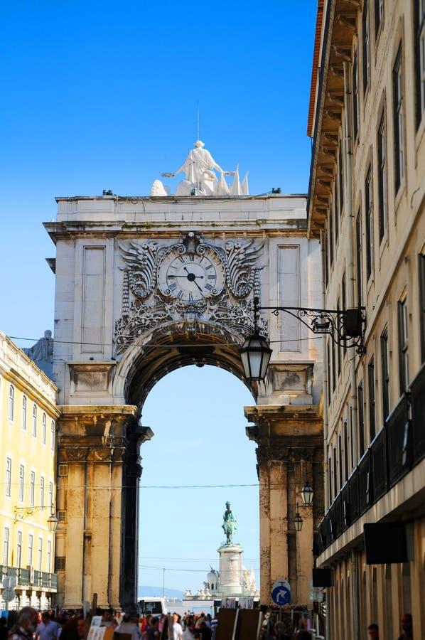 Architettura di Lisbona immagine stock libera da diritti