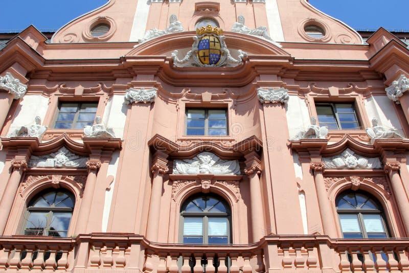 Architettura di Mainz, Germania fotografia stock