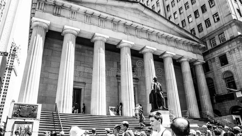 Architettura di Manhattan fotografia stock
