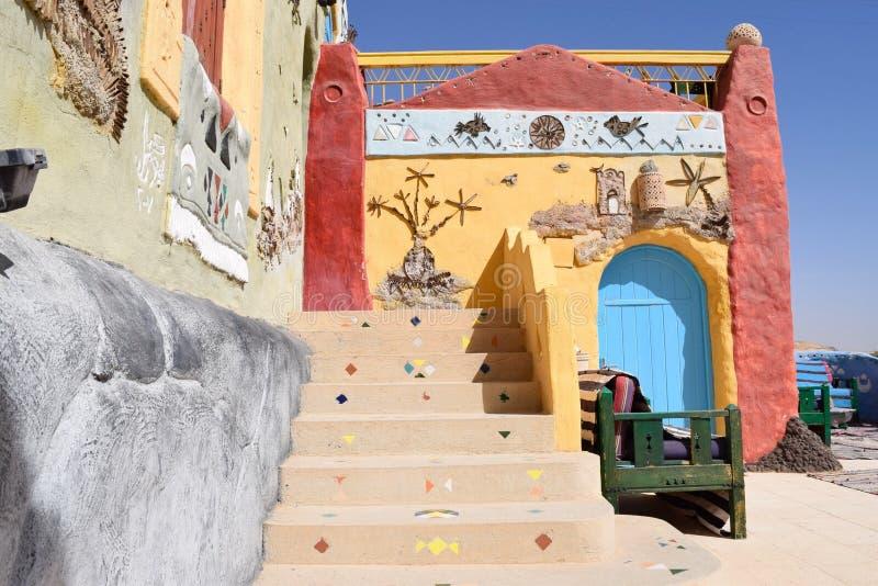 Architettura di Nubian fotografia stock libera da diritti